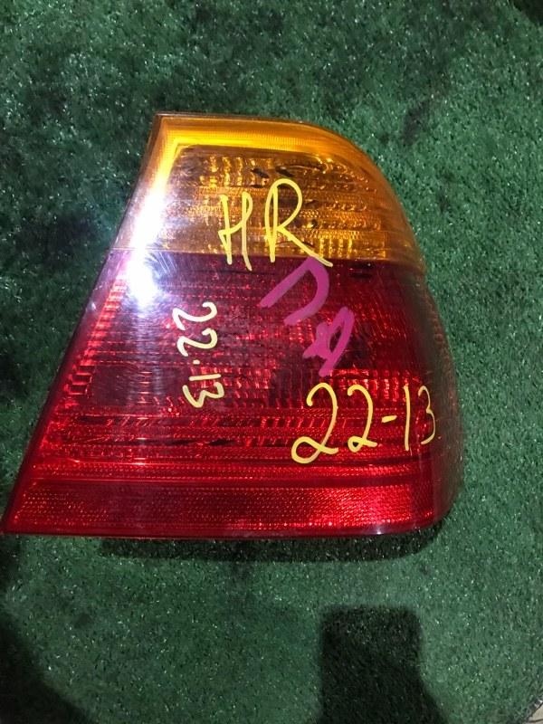 Фонарь стоп-сигнала Bmw 323I E46 M52 1999 правый