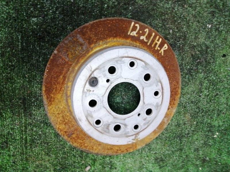 Диск тормозной Toyota Progres JCG10 1JZ-FSE задний правый