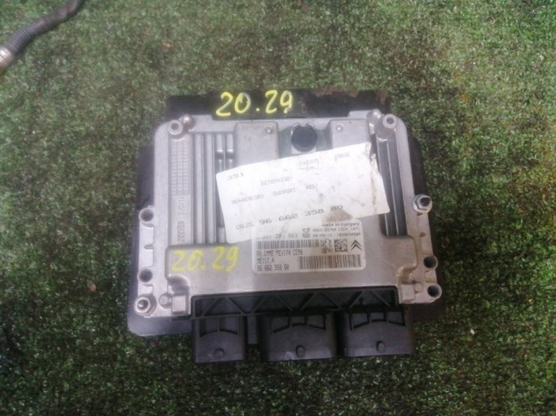 Блок управления двс Citroen C4 PSA5FW 2009