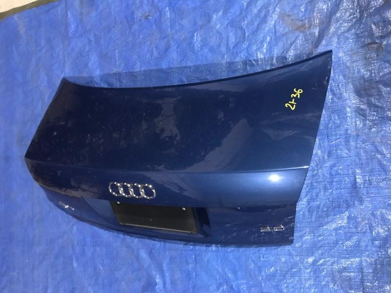 Крышка багажника Audi A4 ALT 2002
