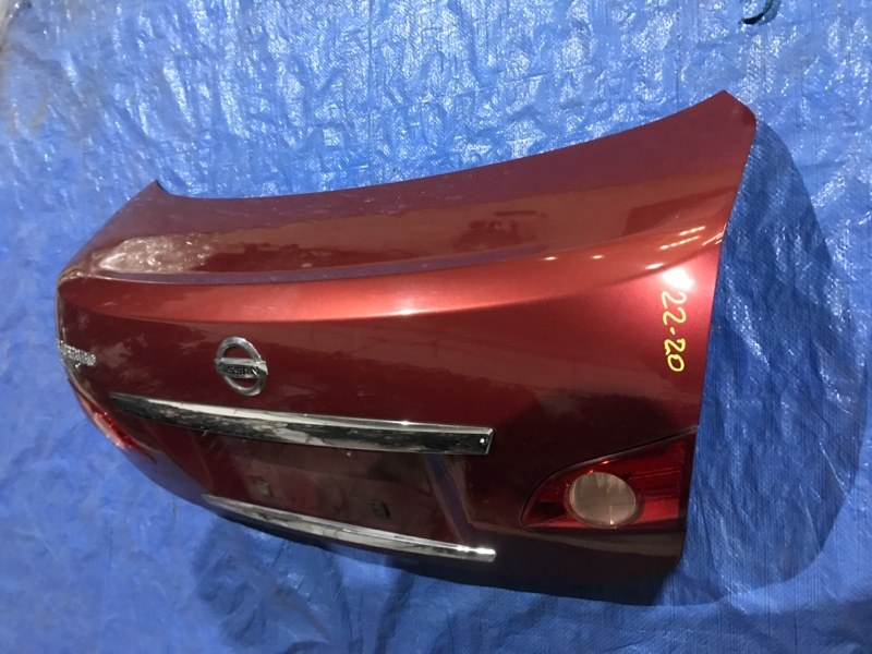 Крышка багажника Nissan Bluebird Sylphy KG11 MR20