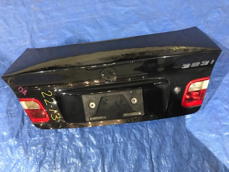 Крышка багажника Bmw 323I E46 M52 1999