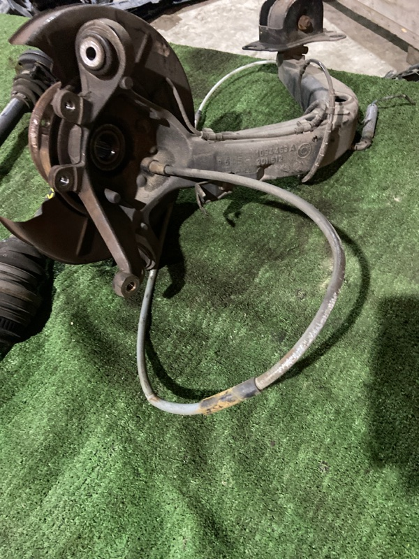 Трос ручника Bmw 323I E46 M52 1999 задний правый