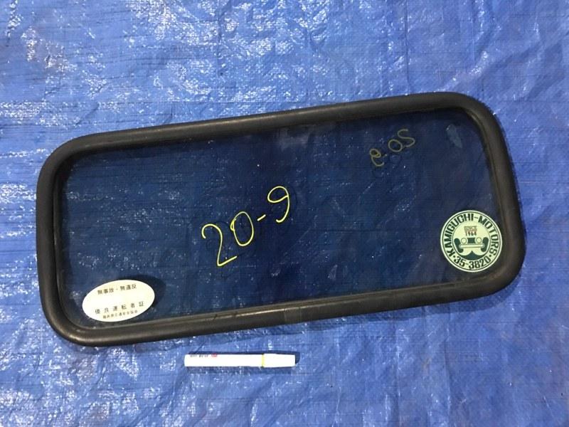 Стекло спальника Toyota Dyna KDY280 2KD-FTV