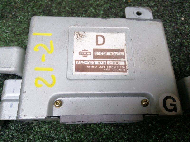 Блок управления кпп Nissan Ad VHNY11 QG18DE