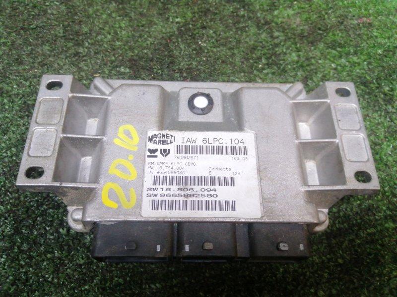 Блок управления двс Peugeot 207 KFU