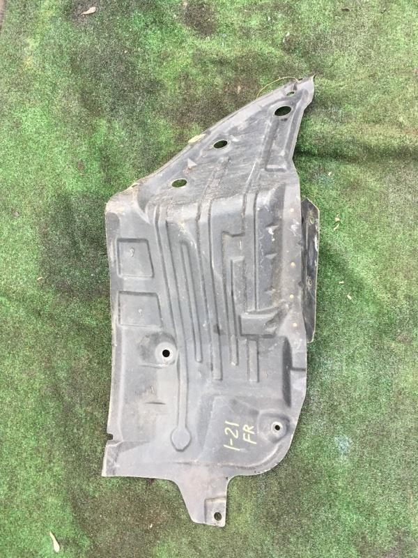 Защита двс Nissan Teana J31 QR25DE передняя правая