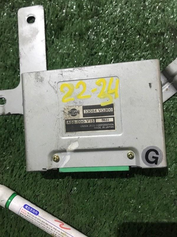 Блок управления кпп Nissan Elgrand APWE50 VQ35DE