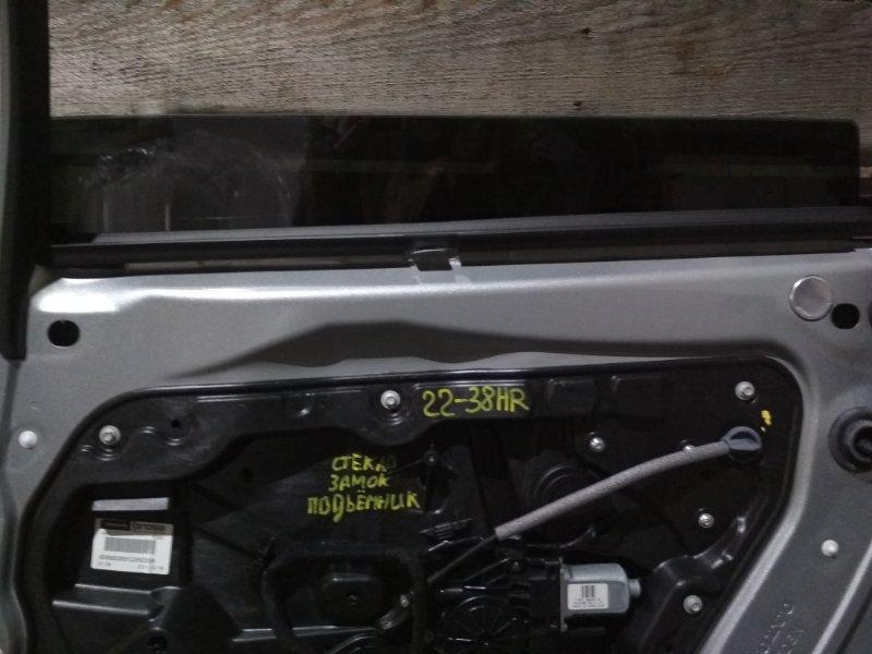 Стекло боковое Volvo V70 B4204T7 2012 заднее правое