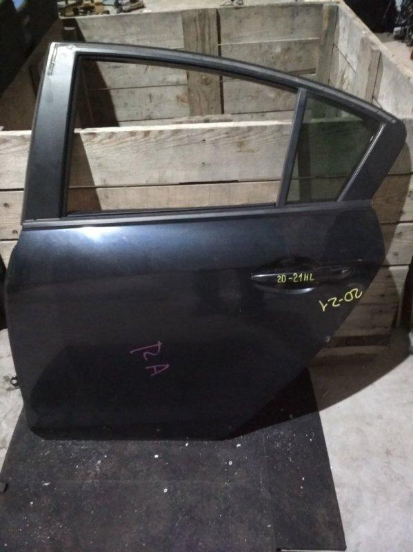Дверь боковая Mazda Axela BLEFP LF задняя левая
