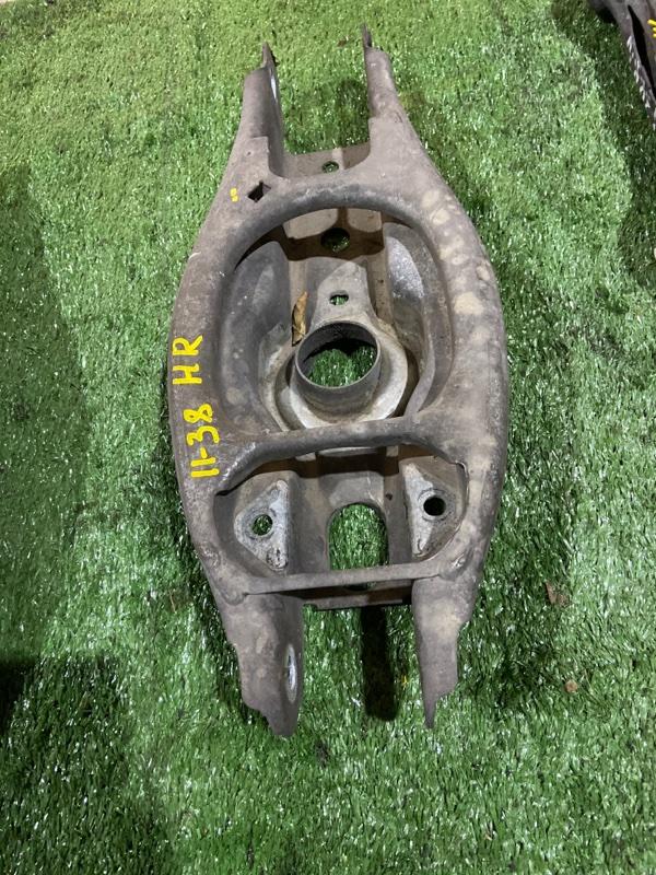 Рычаг подвески Bmw 320I E90 N46 B20 2007 задний правый