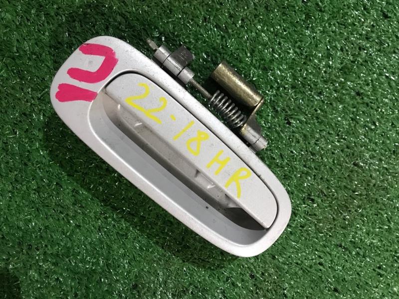 Ручка наружная Toyota Sprinter AE114 4A-FE задняя правая