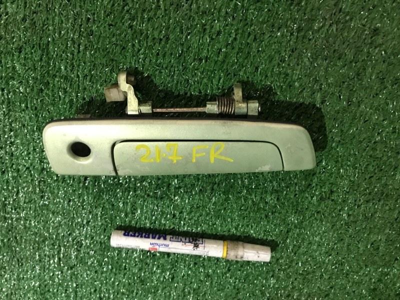 Ручка наружная Mitsubishi Pajero Io H76W 4G93 передняя правая