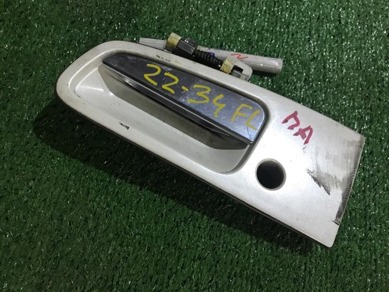 Ручка наружная Nissan Elgrand APWE50 VQ35DE передняя левая