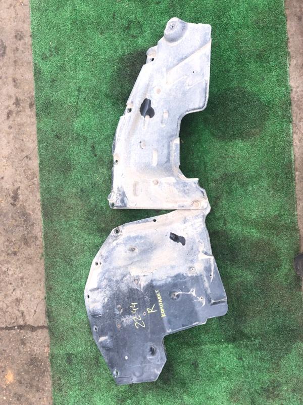 Защита подкапотного пространства Isuzu Forward FRR34L4 6HK1-T 2006 правая
