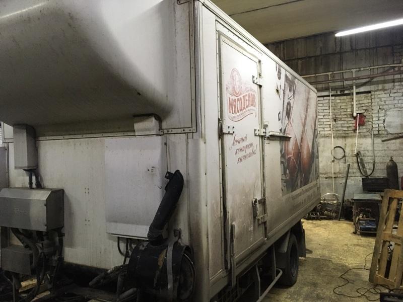 Кузов грузовой Isuzu Elf NPR71L 4HG1