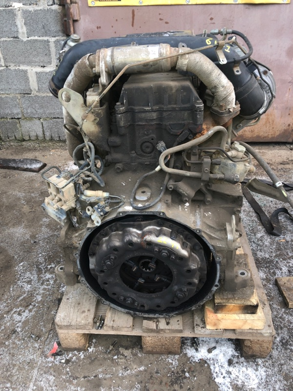 Двигатель Isuzu Forward FRR34L4 6HK1-T 2006