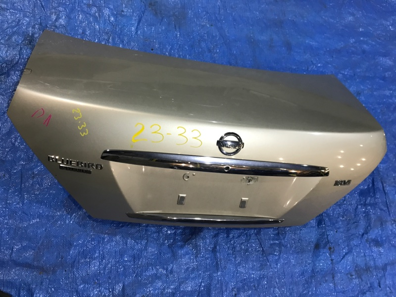 Крышка багажника Nissan Bluebird Sylphy QNG10 QG18DE