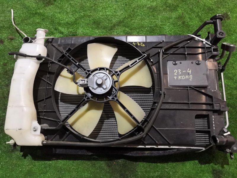 Радиатор двигателя Mitsubishi Colt Z22A 4A90