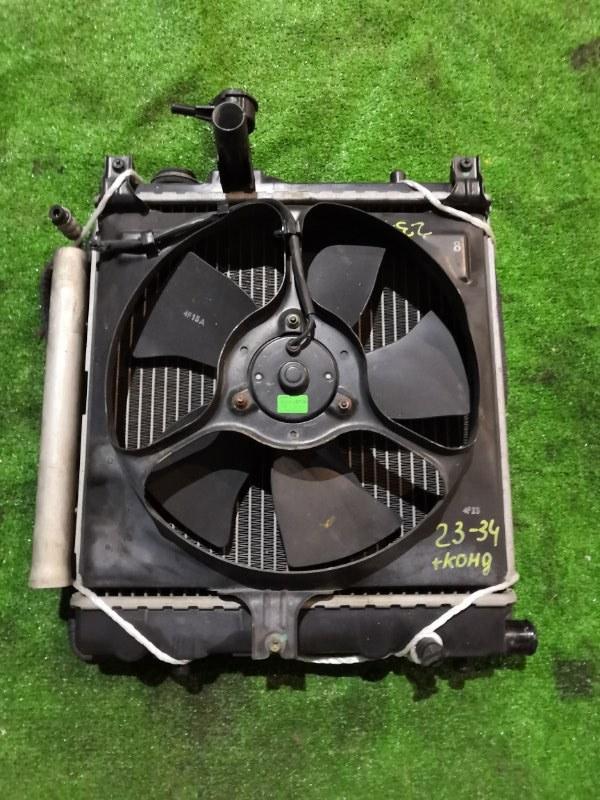Радиатор двигателя Suzuki Mr Wagon MF21S K6A