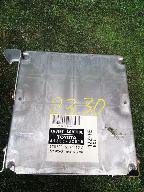 Блок управления двс Toyota Vista Ardeo ZZV50 1ZZ-FE
