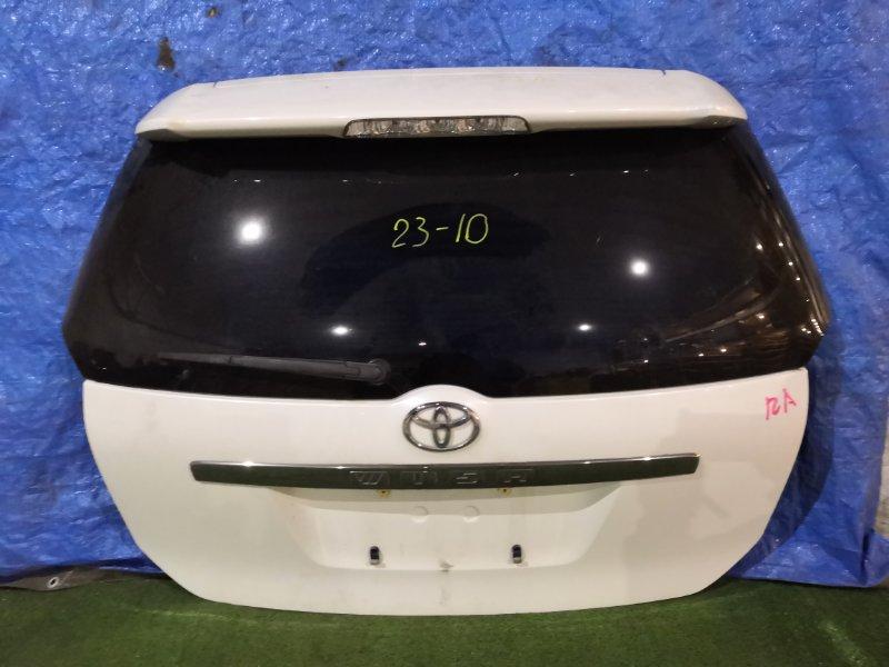 Дверь задняя багажника Toyota Wish ANE11W 1AZ