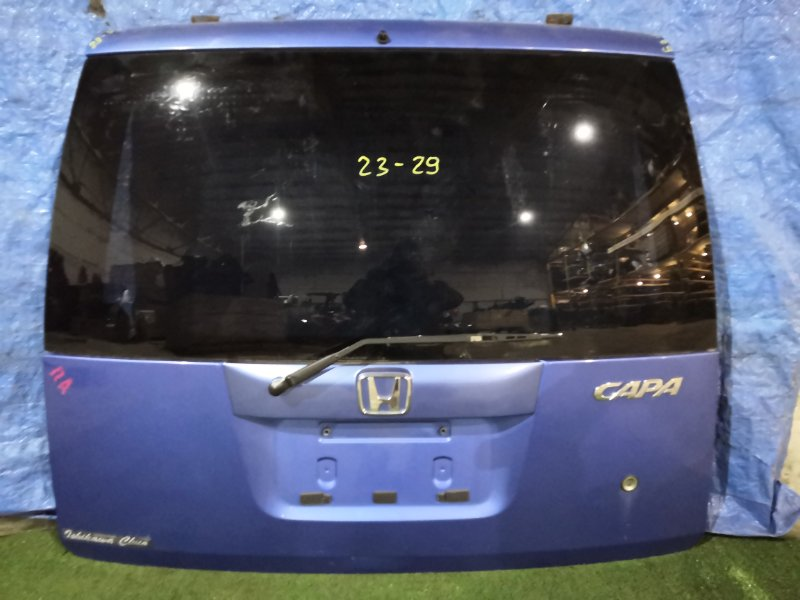 Дверь задняя багажника Honda Capa GA4 D15B