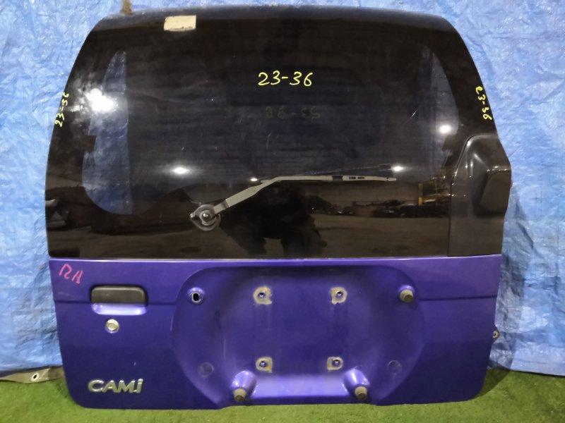 Дверь задняя багажника Toyota Cami J100E HC-EJ