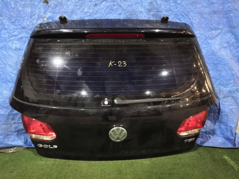 Дверь задняя багажника Volkswagen Golf CAX 2009