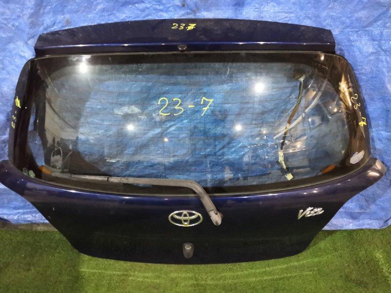 Дверь задняя багажника Toyota Vitz SCP10 1SZ-FE