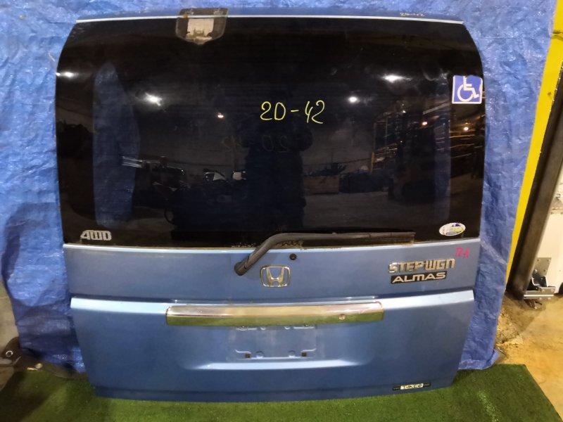 Дверь задняя багажника Honda Stepwgn RF4 K20A