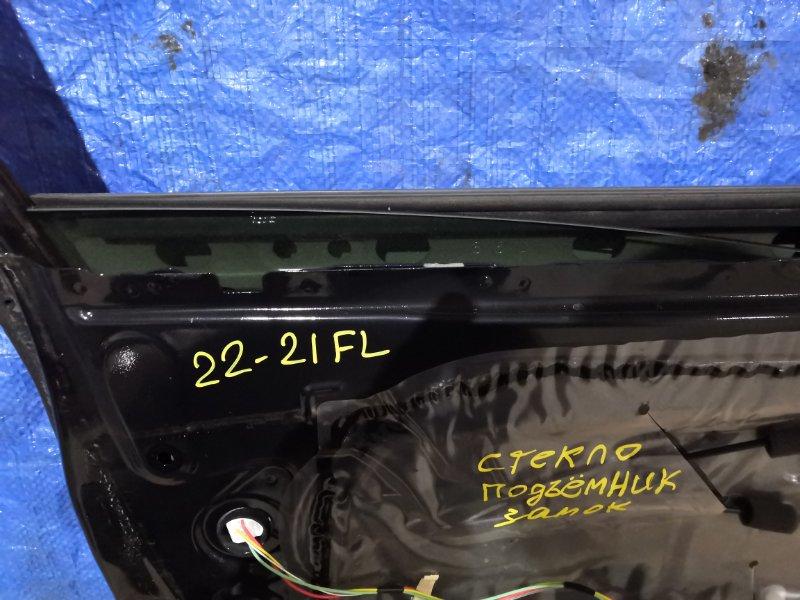 Стекло боковое Toyota Wish ZGE22W 3ZR-FAE переднее левое