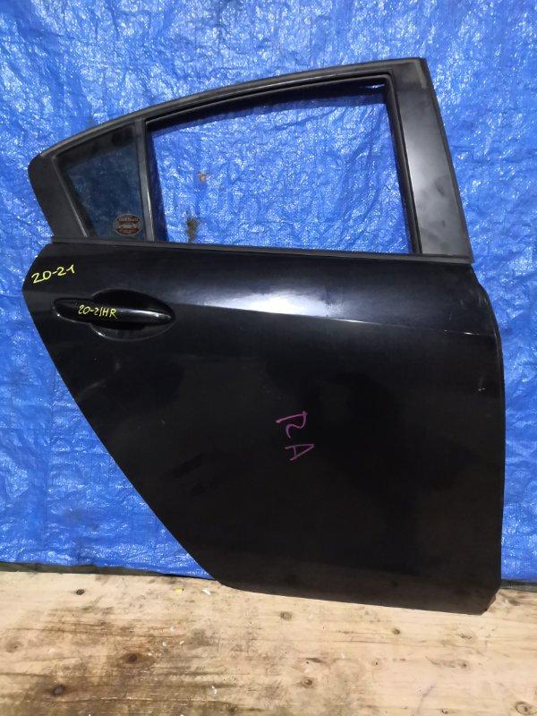 Дверь боковая Mazda Axela BLEFP LF задняя правая