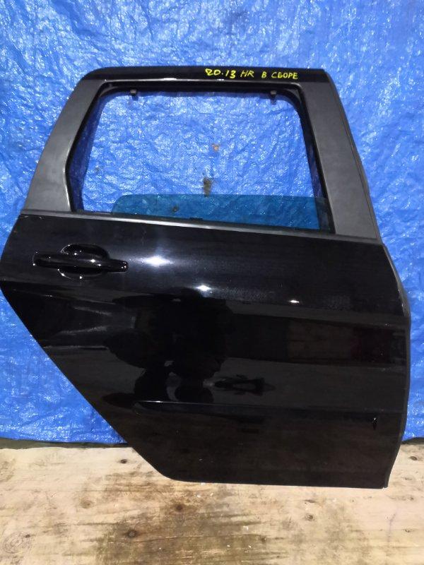 Дверь боковая Peugeot 308 PSA 5FT задняя правая