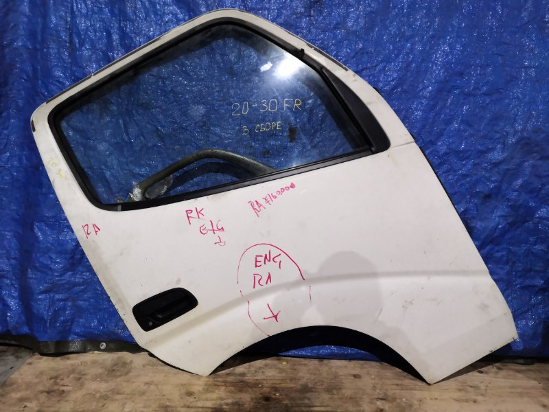 Дверь боковая Hino Dutro XZU-301 S05D передняя правая