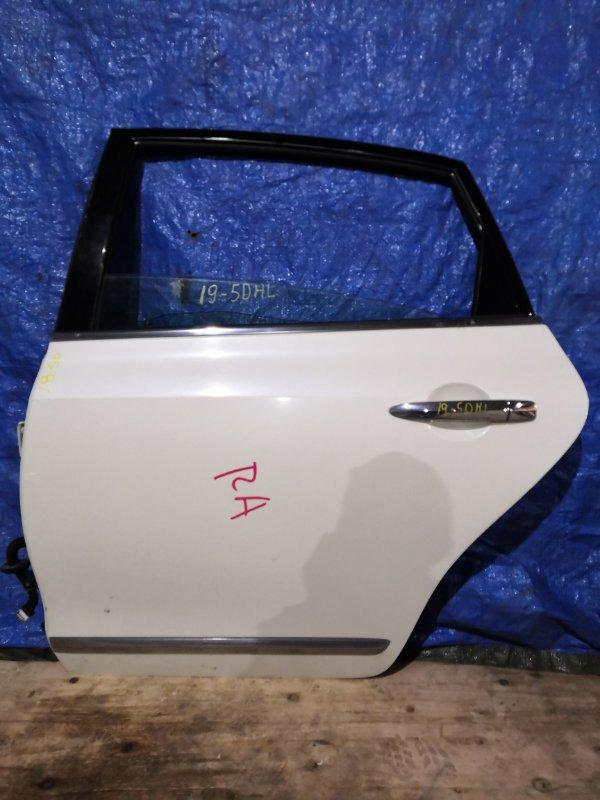Дверь боковая Nissan Teana J32 VQ25DE задняя левая