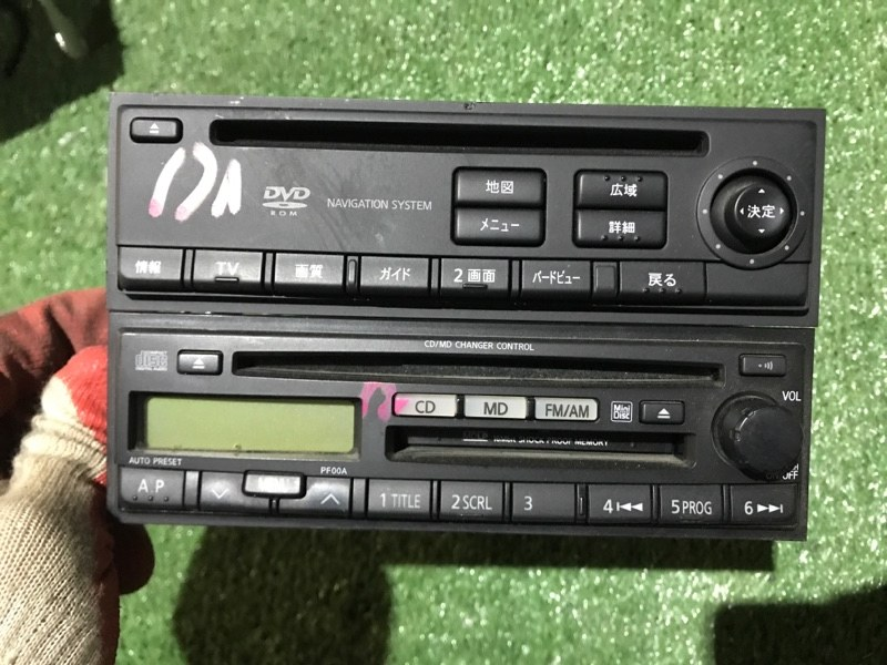 Магнитола Nissan Serena TNC24 QR20DE