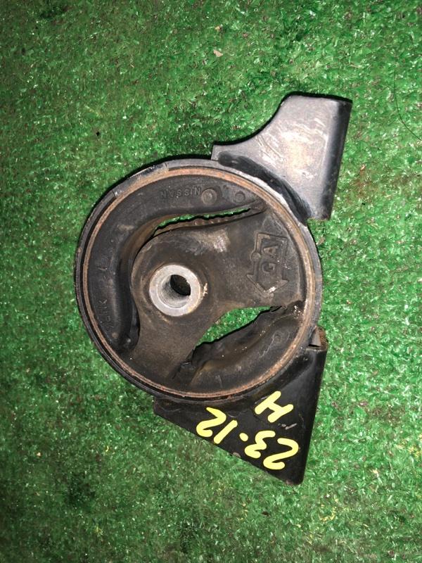 Подушка двигателя Nissan Wingroad WFY11 QG15DE задняя