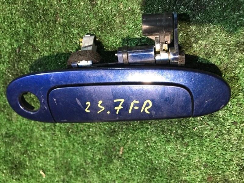 Ручка наружная Toyota Vitz SCP10 1SZ-FE передняя правая