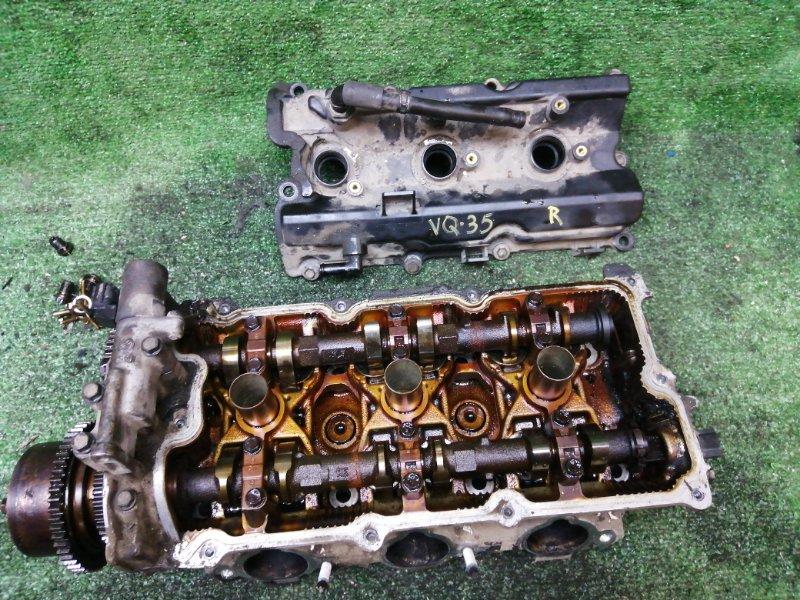 Головка блока цилиндров Nissan VQ35 правая