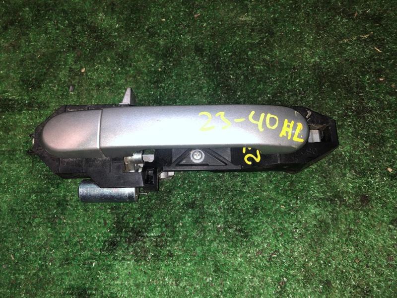 Ручка наружная Nissan March AK12 CR12DE задняя левая