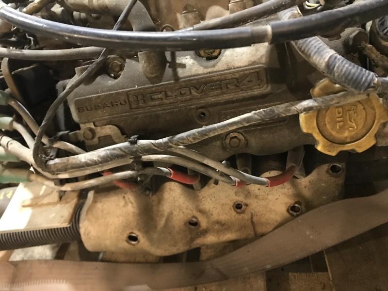 Провод высоковольтный Subaru Sambar TT2 EN07