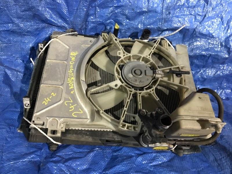 Радиатор двигателя Toyota Vitz SCP90 2SZ-FE