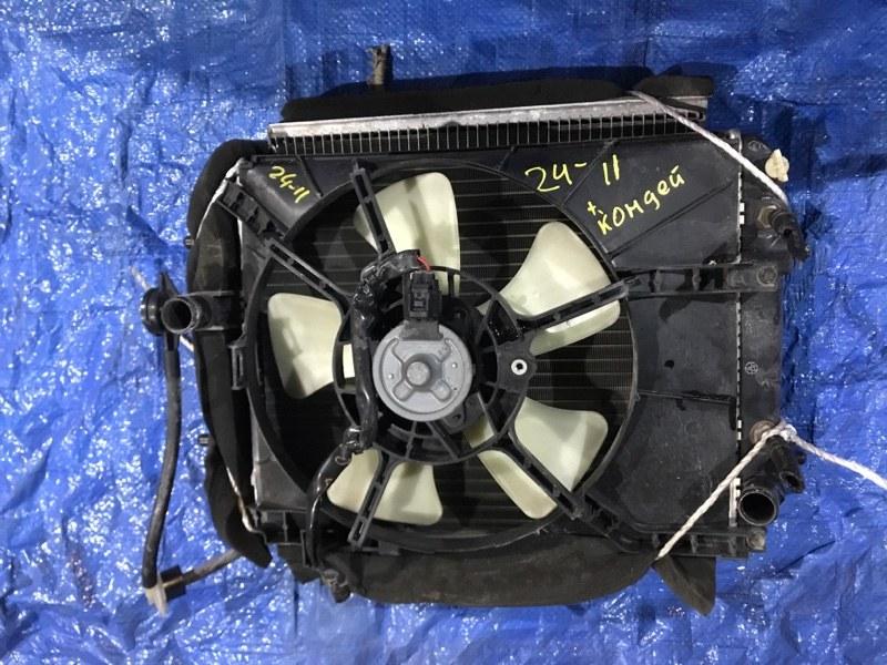 Радиатор двигателя Toyota Passo KGC15 1KR-FE