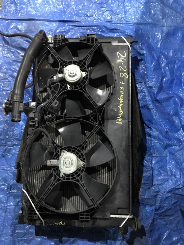 Радиатор двигателя Mitsubishi Galant CX4A 4B11