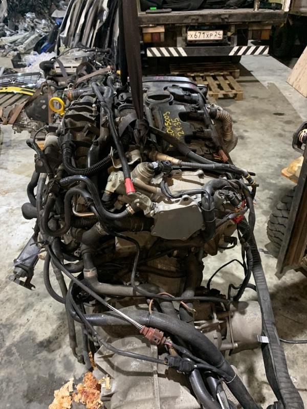 Проводка двигателя Audi A4 BWE 2006