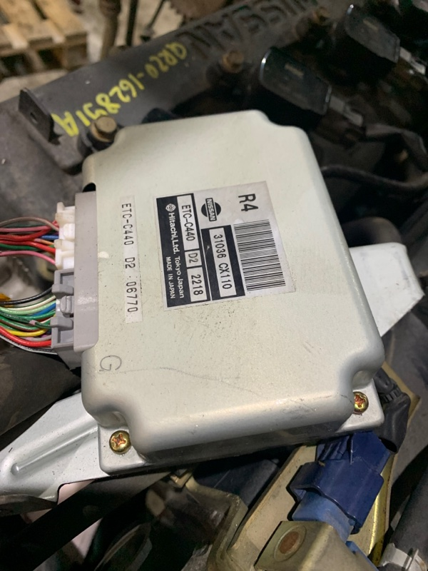 Блок управления двс Nissan Serena TC24 QR20DE