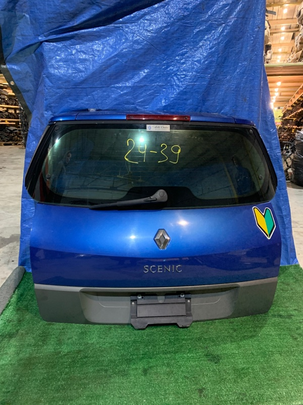 Дверь задняя багажника Renault Scenic F4R 2005
