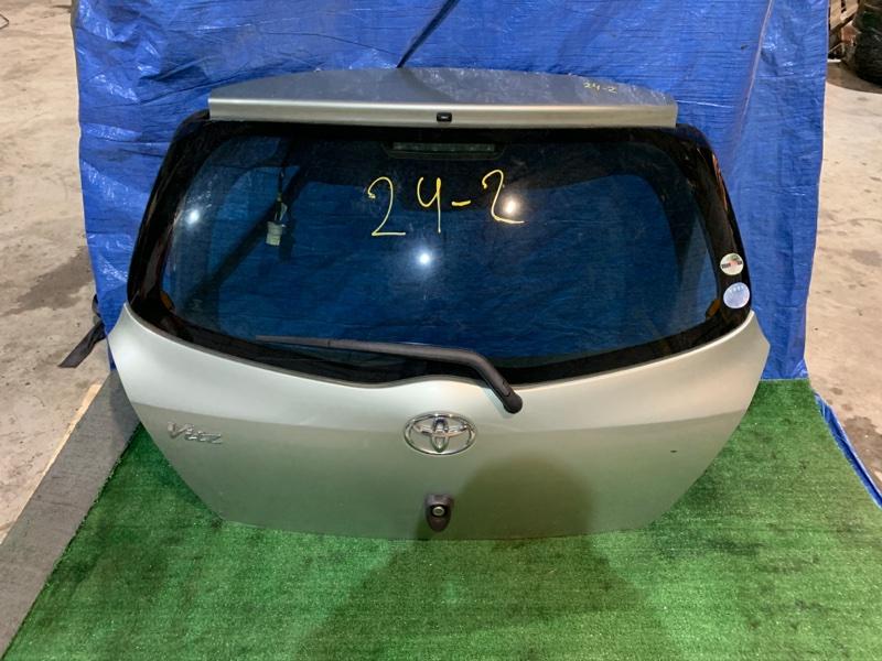 Дверь задняя багажника Toyota Vitz SCP90 2SZ-FE