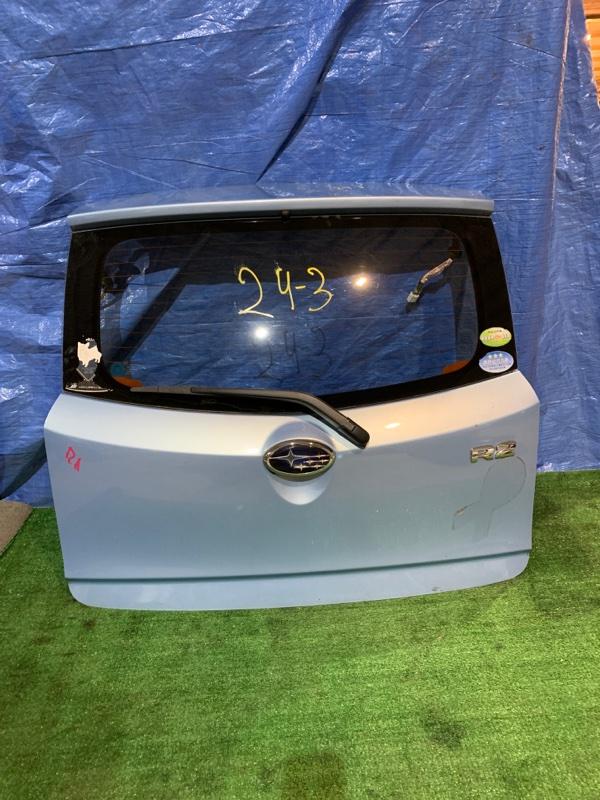 Дверь задняя багажника Subaru R2 RC1 EN07